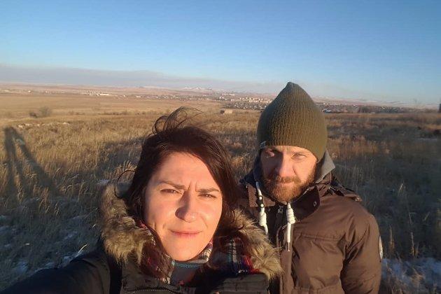 Фото на фоне Краснокаменска