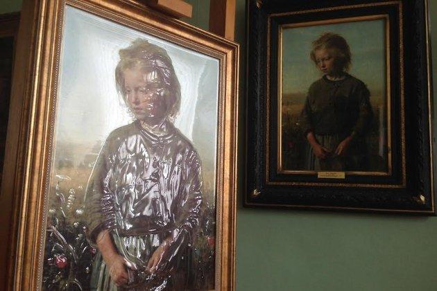 Тактильная картина появилась вхудожественном музее Иркутска