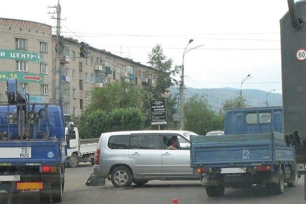 Перекрёсток улиц Ярославского и Лазо