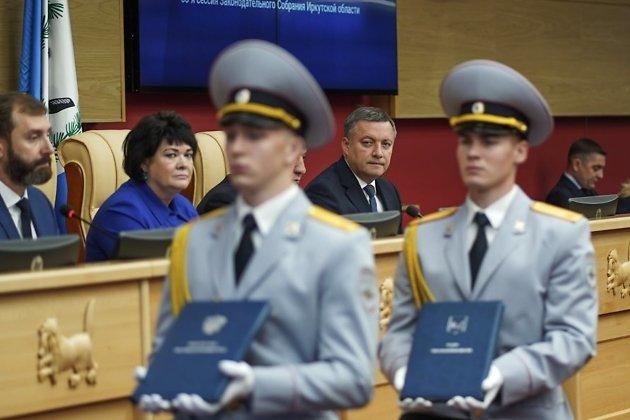 Игорь Кобзев на инаугурации