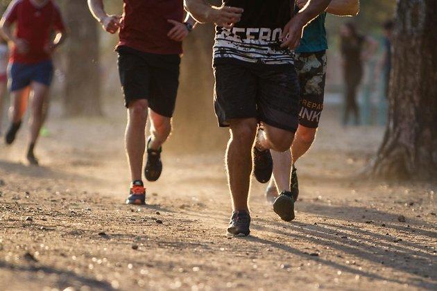 Бег по пересечённой местности - хорошая нагрузка для опытного спортсмена.