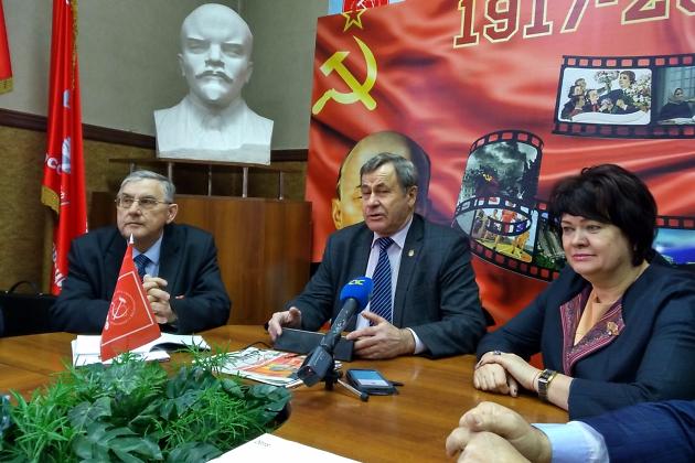 Евгений Рульков на пресс-конференции 23 января