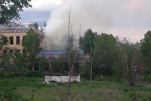 Пожар в Черновском детском доме