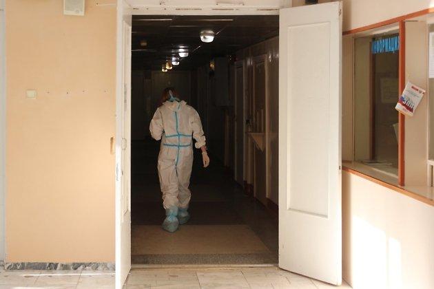 За время пандемии в госпитале ветеранов было уже более тысячи пациентов с COVID-19