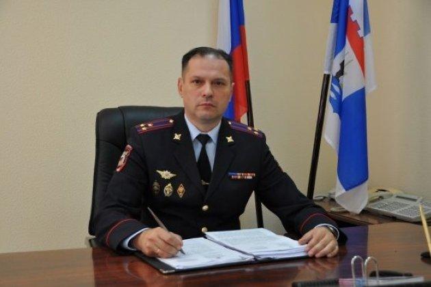 Александр Щеглов на должности заместителя начальника УМВД России по Новгородской области