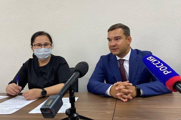 Пресс-конференция с Юрием Мурадовым и Татьяной Цымпиловой