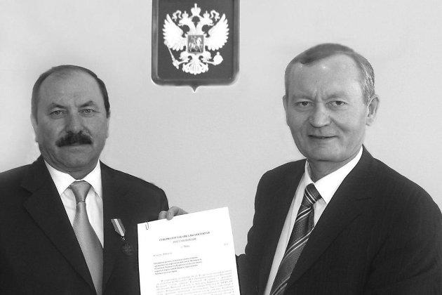 Равиль Гениатулин и Сергей Трофимов