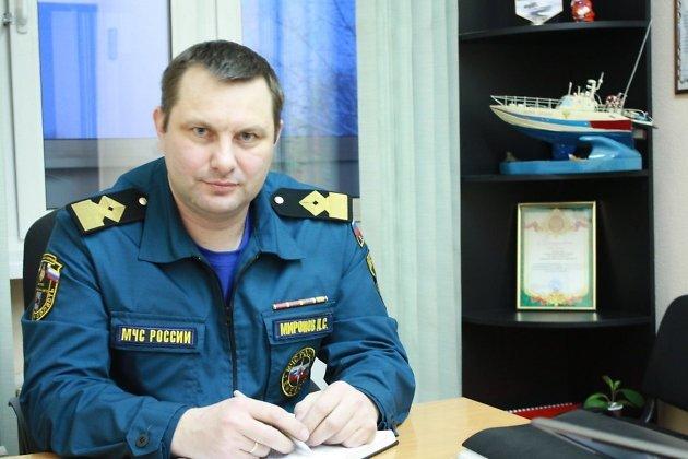 главный государственный инспектор Иркутской области по маломерным судам Дмитрий Миронов