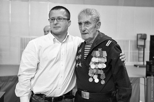 Бывший зампредседателя правительства края Геннадий Чупин (слева) и Абдулла (Александр) Мамедов.