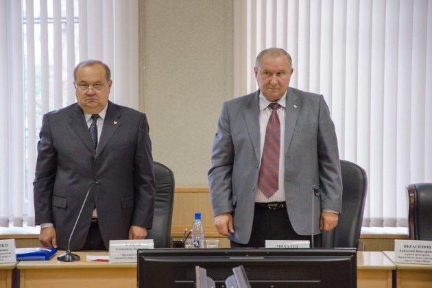 Александр Зенков и Анатолий Михалёв