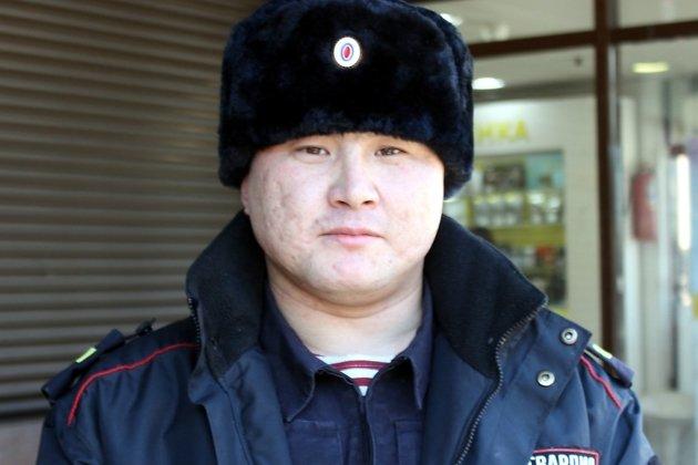 Сотрудник вневедомственной охраны Росгвардии старший сержант полиции Анатолий Богданов