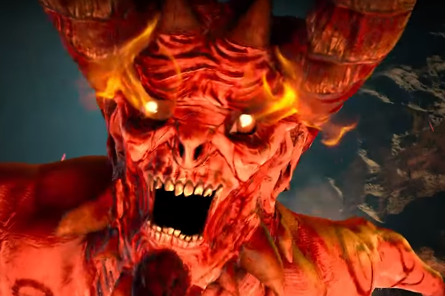 Кадр из короткометражного 5D-мультфильма Angels and Demons
