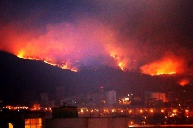 Площадь лесных пожаров вСибири увеличилась засутки в 4 раза