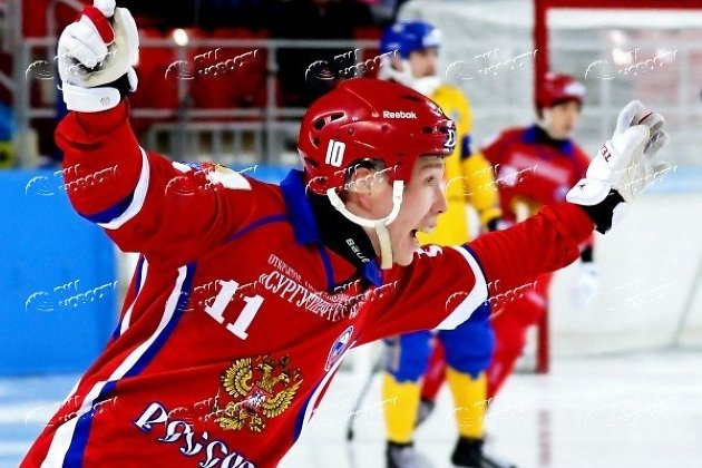 Вадим Чернов в форме сборной России