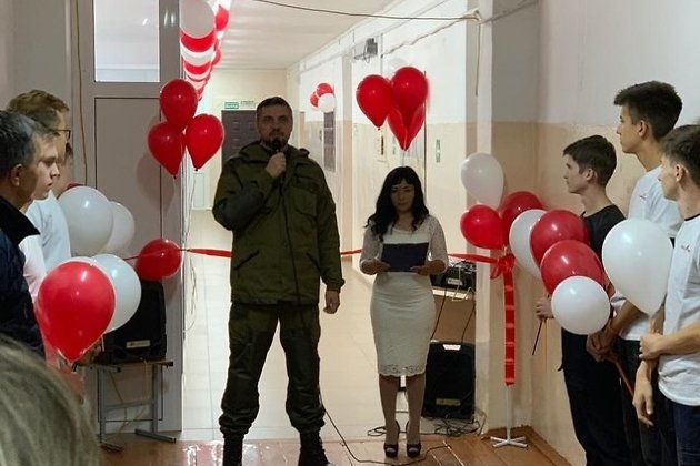 Осипов в рабочей поездке в Горный, 8 сентября