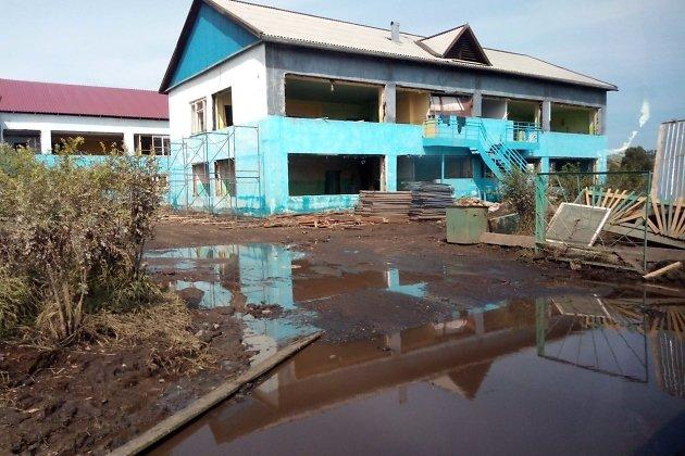 Детский сад «Родничок», дважды затопленный во время паводка в Тулуне