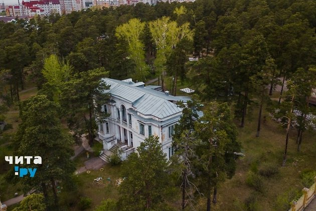 Детский сад №26 в Чите и прилегающий к нему лесной участок