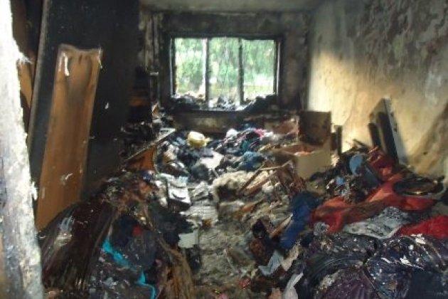 Пожар произошел вквартире патологического накопителя вещей вИркутске