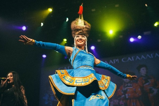 Победительница конкурса «Дангина 2018» Светлана Дармаева