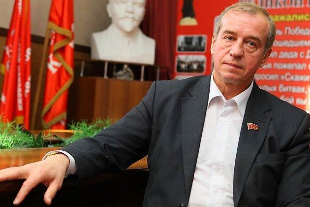 Губернатор Иркутской области, первый секретарь обкома КПРФ Сергей Левченко