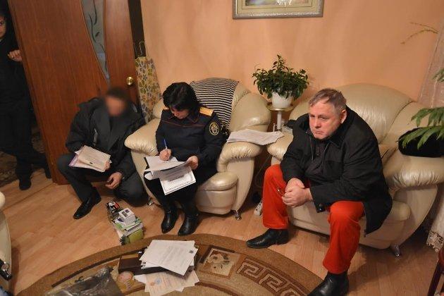 Обыск у экс-заместителя мэра Читы Анатолия Куликова