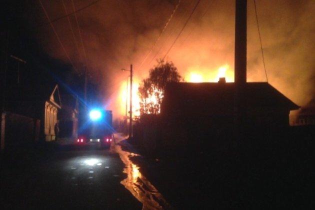 Гостиница «Девятый вал» сгорела вЛиствянке