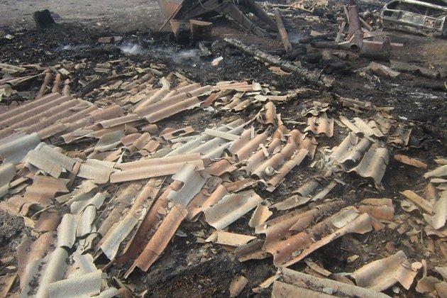 Нарынке вЧите произошёл крупный пожар