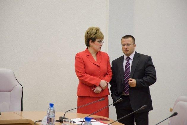 Наталья Жданова и Геннадий Чупин