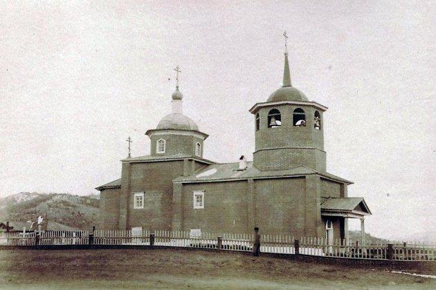 Михаило-Архангельская церковь, 1888 год.