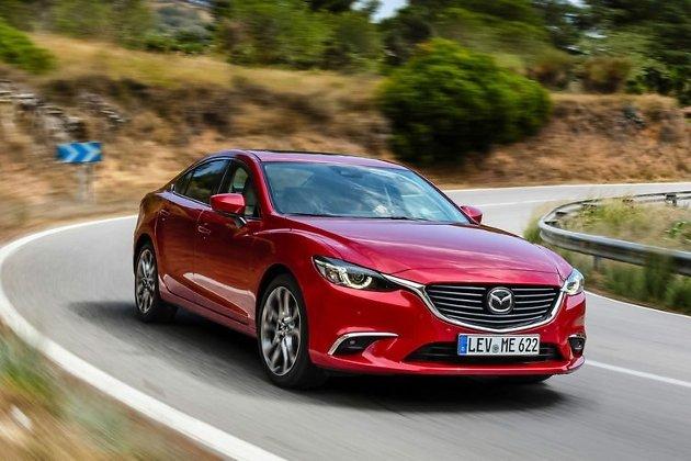 Mazda 6 2017 года