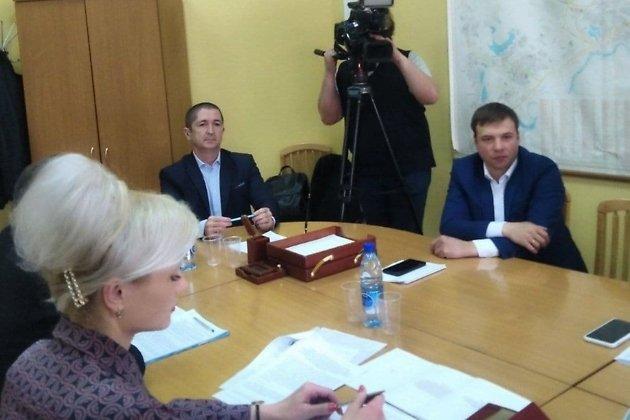 Марина Попова, Александр Щебеньков и Никита Жданов