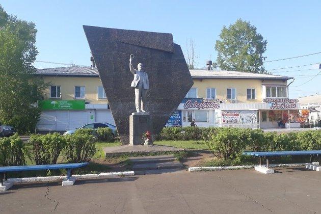 Главная площадь Вихоревки