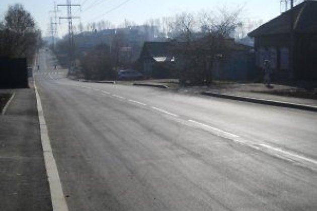 Дороги Иркутска после ремонта