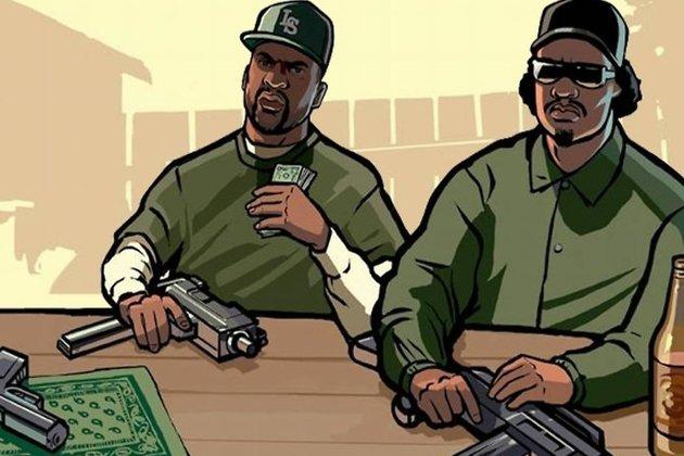 Постер игры GTA: San Andreas