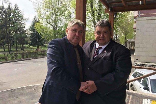 Вадим Семёнов и Олег Боровский