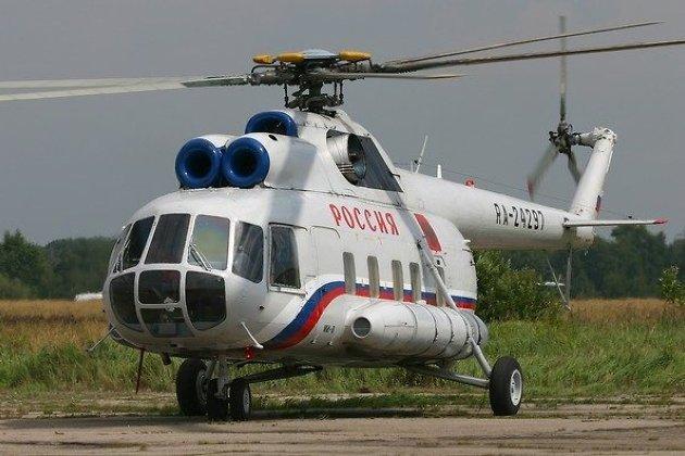 Гражданский самолет Ми-8 совершил аварийную посадку ваэропорту Иркутска