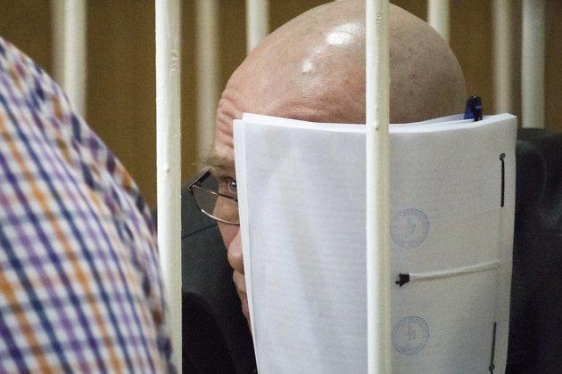 Владимир Пауков во время заседания в суде