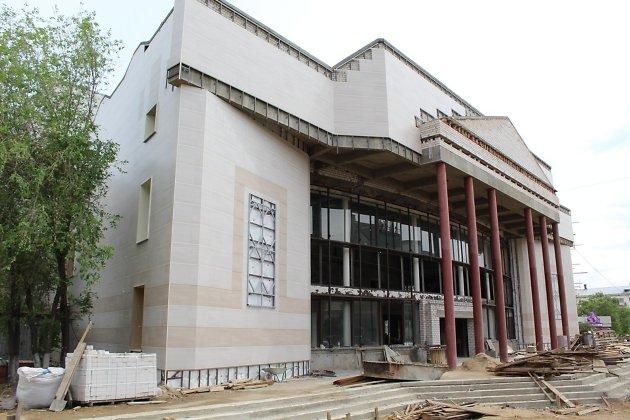 Реконструкция краевого драмтеатра