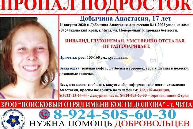 Анастасия Добычина