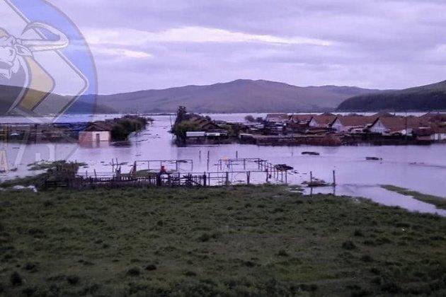 Наводнение в Балейском районе