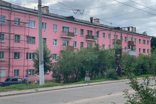 Тот самый неприлично розовый дом