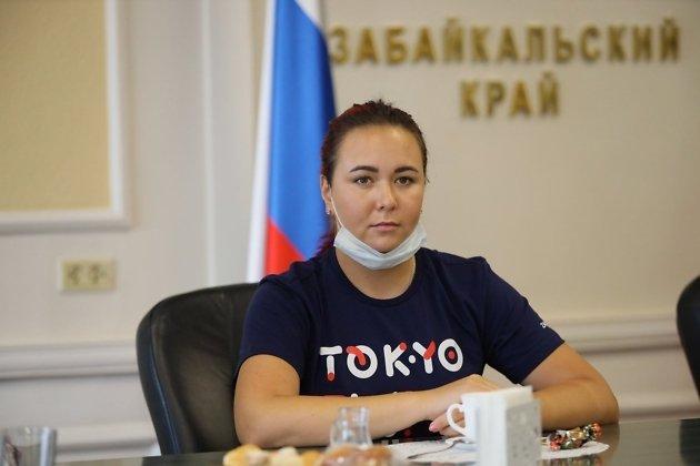 Елена Осипова готовилась к Олимпиаде в Токио в Забайкальском крае