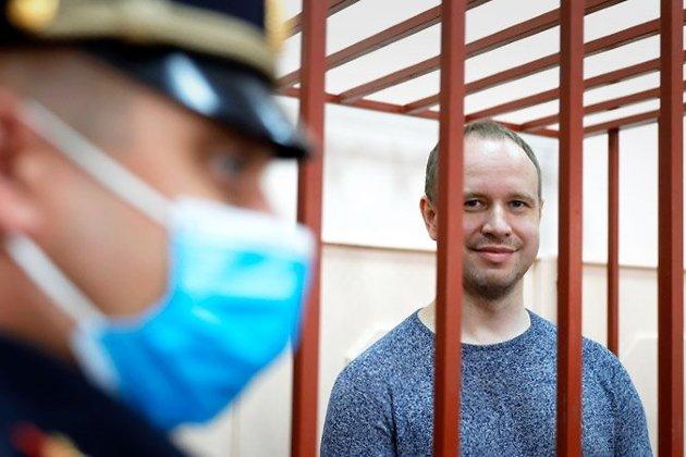 Андрей Левченко в Басманном суде Москвы