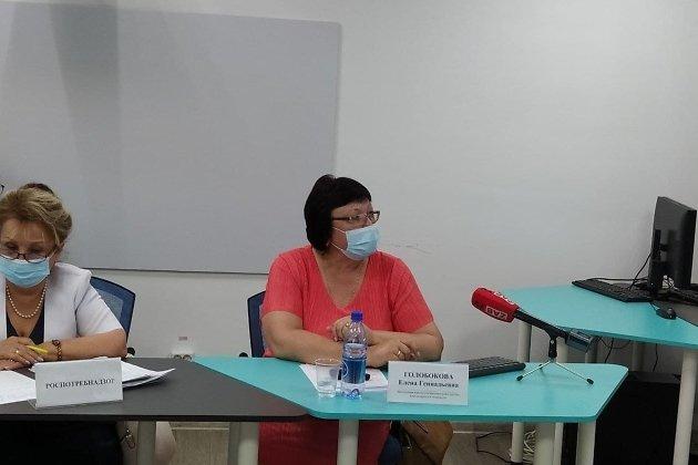 Заведующая кабинетом вакцинации Читинской ЦРБ Елена Голобокова