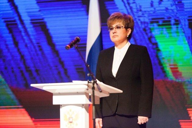 Инаугурация Натальи Ждановой