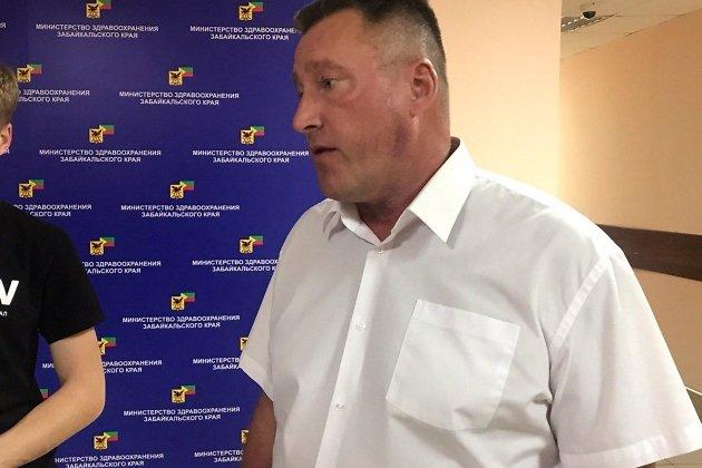 Главный хирург края Сергей Мясников на встрече с журналистами