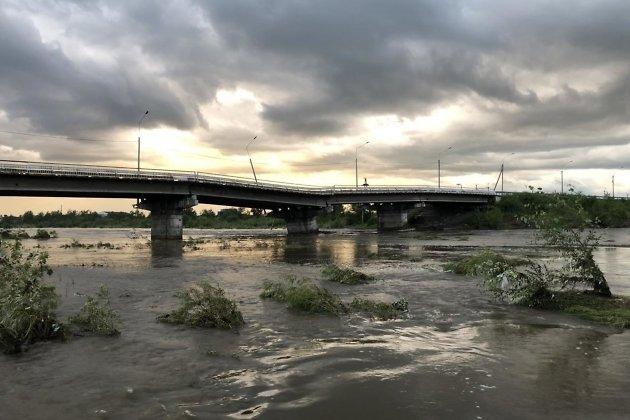 Каштакский мост, 21.30 13 июля