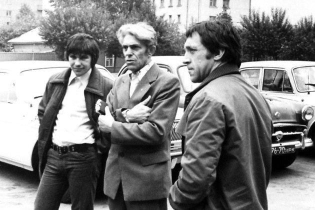 Владимир Высоцкий во время приезда в Иркутск в 1976 году