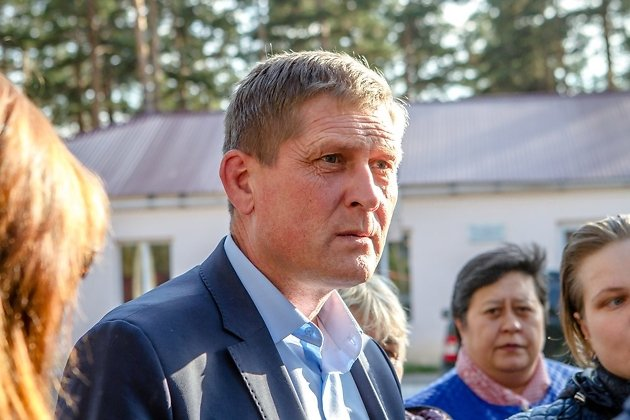 Первый заместитель главы Читинского района Сергей Фесюк