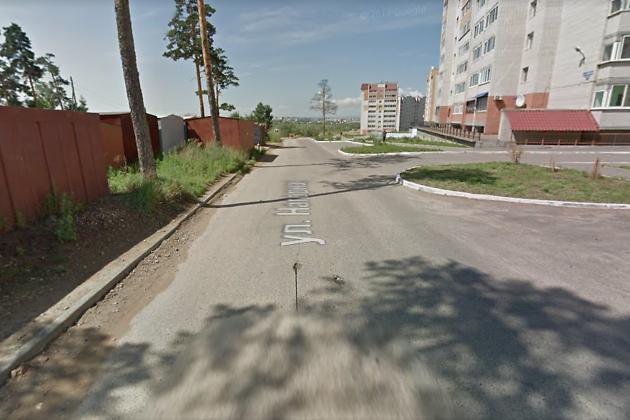 Улица Нагорная в Чите сейчас
